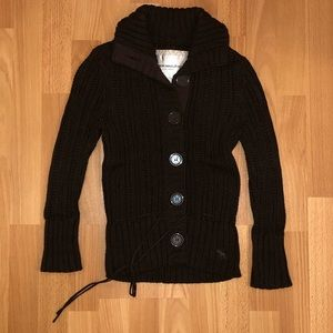 Abercrombie & Fitch Cardigan Sweater Size Small